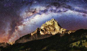 Ciel étoilé Astre et Minéral