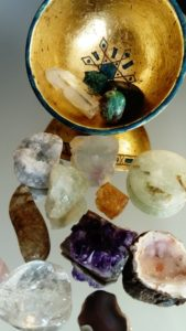 Jeu des cristaux Astre et Minéral