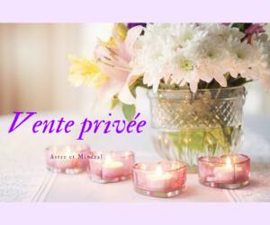Vente Privée Invitation Astre et Minéral Lille