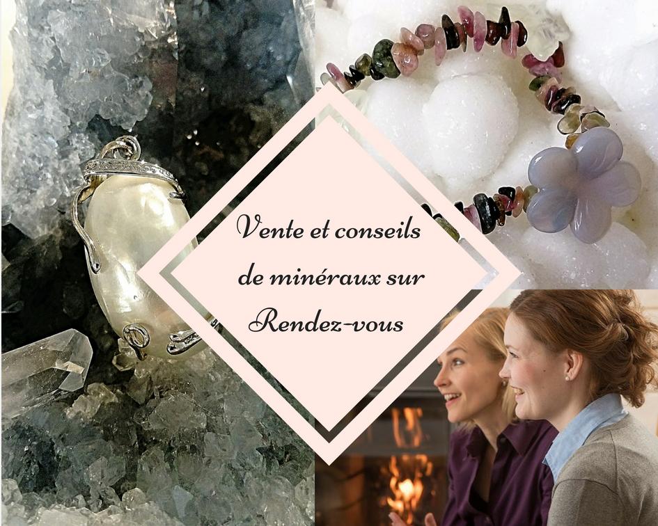 Vente de minéraux et bijoux sur rendez-vous