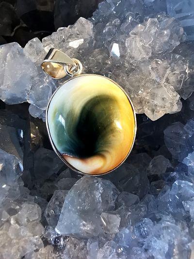 Oeil de Shiva pendentif