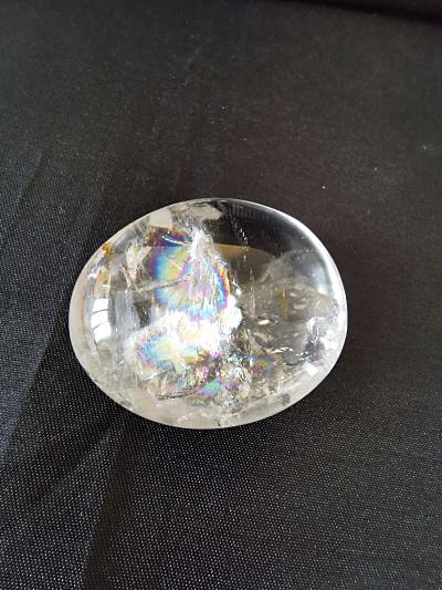 Cristal de roche à arc-en-ciel