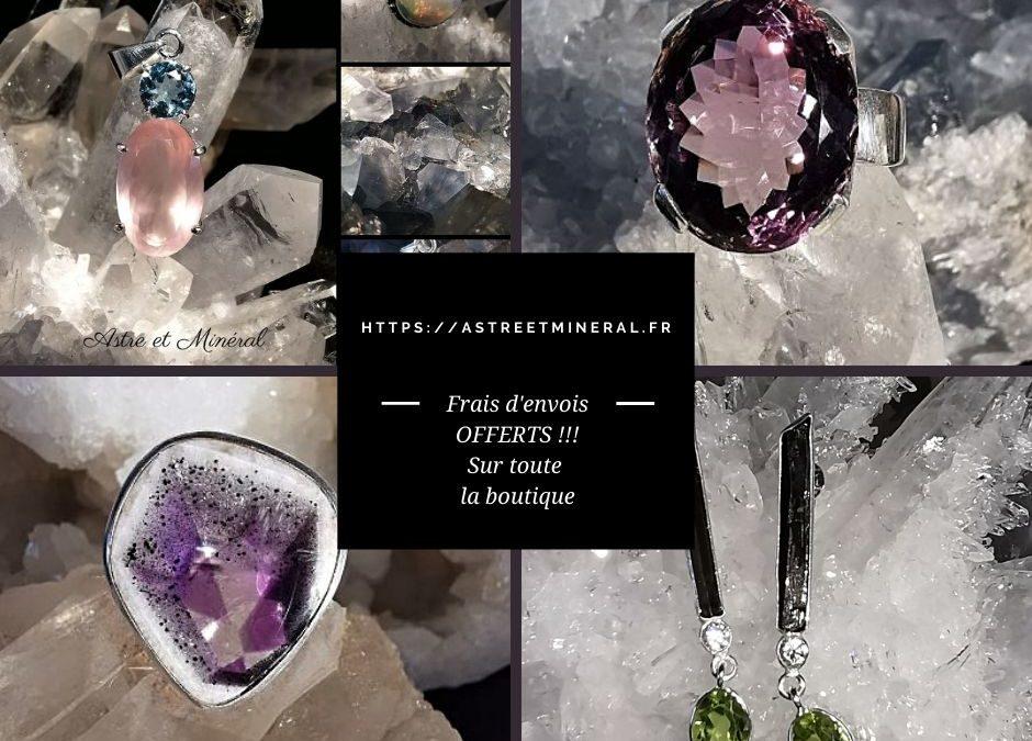Mineraux - geodes- bijoux en pierres naturelles - fossiles - Astre et Mineral Marquillies Lille Nord - France